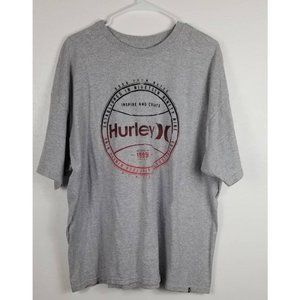 Hurley Gray Shirt Sz XXL